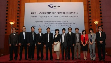 "ERIA Organizes Capacity Building Seminar and Workshop in Hanoi on ""Vietnam's Upgrading in the Process of Economic Integration"""