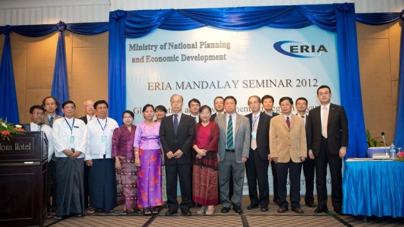 ERIA Organizes Capacity Building Seminar and Workshop in Mandalay and Nay Pyi Taw, Myanmar