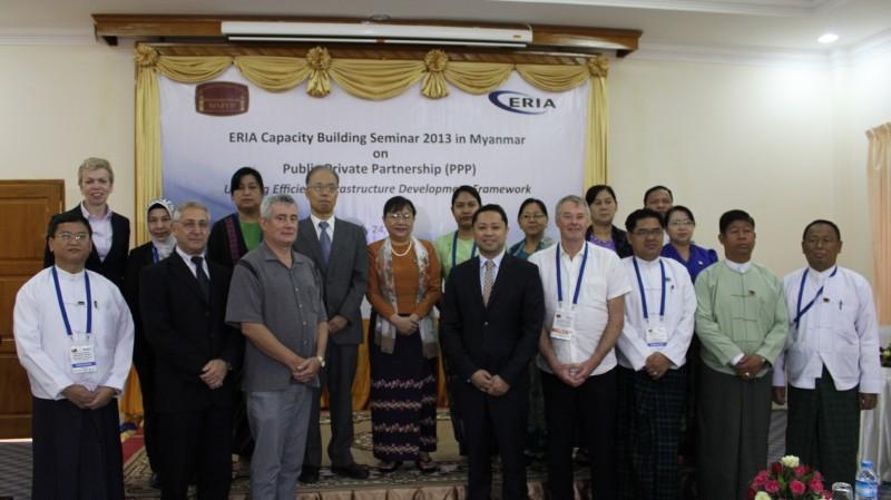 Capacity Building Seminar in Nay Pyi Taw, Myanmar (PPP