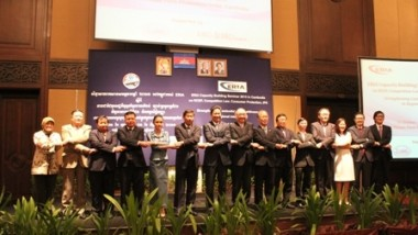 Capacity Building Seminar 2013 in Phnom Penh, Cambodia (RCEP, Competition Law, Consumer Protection, IPR)