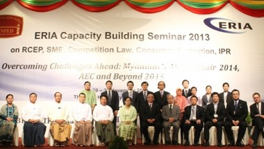 Capacity Building Seminar 2013 in Nay Pyi Taw, Myanmar (RCEP, SME, Competition Law, Consumer Protection, IPR)