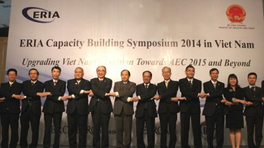 Capacity Building Symposium 2014 in Ha Noi, Viet Nam on 'Upgrading Viet Nam's Position towards AEC 2015 and beyond'