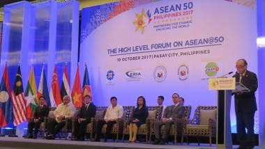ERIA, DFA, FSI Organise the High Level Forum on ASEAN@50
