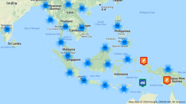 Map of CADP Infrastructure Projects