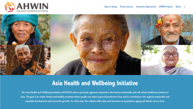 ERIA and JCIE Launch a New Website for Healthy Ageing in Asia