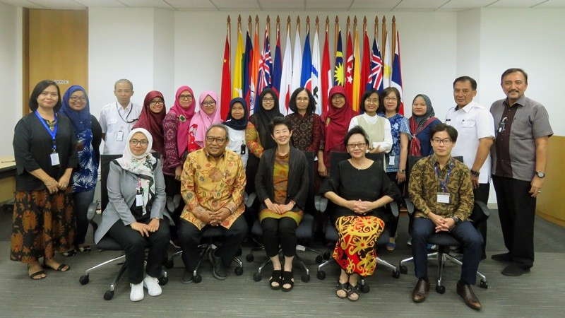 ERIA Hosts Workshop on Long-term Care for Elderly Caregivers in Indonesia