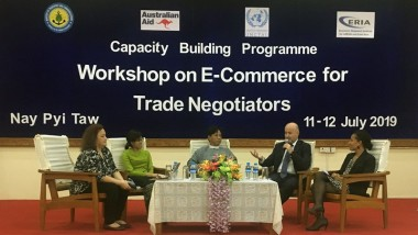 ERIA CBP Holds Workshop on E-commerce in Naypyitaw