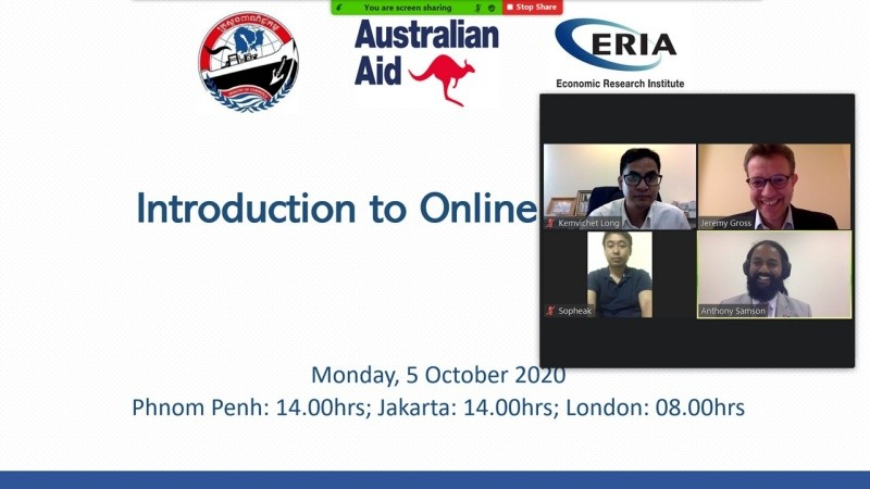 ERIA and the Cambodian Ministry of Commerce Kickstarts E-Commerce Through Online Learning