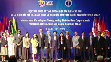 ERIA Co-organises Workshop on Stakeholders Cooperation in Promoting Active Ageing and Mental Health in ASEAN