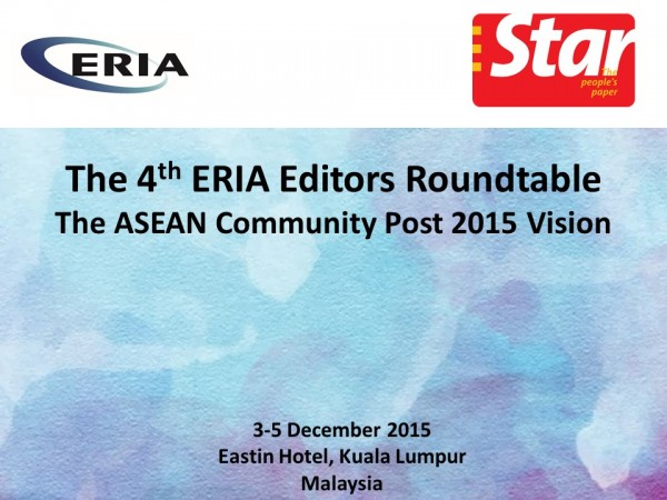 The 4th ERIA Editors Roundtable