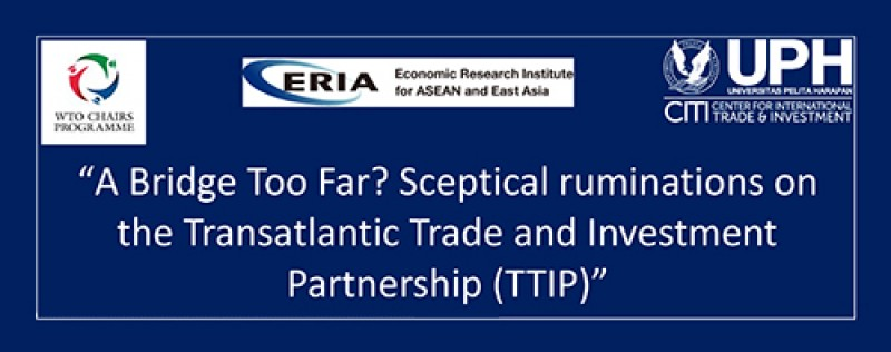 A Bridge Too Far? Sceptical ruminations on the Transatlantic Trade and Investment Partnership (TTIP)