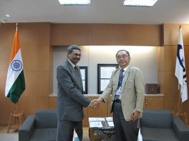 Visit of Joint Secretary (MER), Ministry of External Affairs of India, Mr. Vinod Kumar