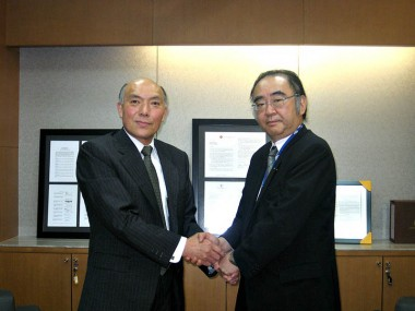 Visit of Vice President, International Affairs Innovation Promotion of AIST, Mr. Masakazu Yamazaki