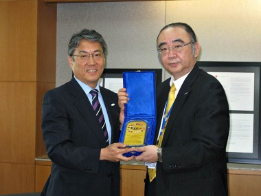 Visit of Commissioner of Japan Patent Office, Mr. Tetsuhiro Hosono