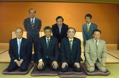 Meeting with Kansai Economic Federation