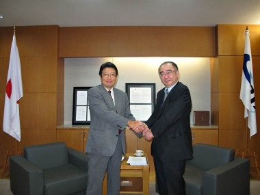Visit of Mr. Takaya Imai, Deputy Director-General, Trade and Economic Cooperation Bureau of METI, Japan