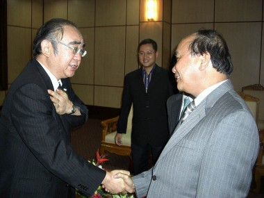 Meeting with Ministe and Member of Politburo of the Communist Party of Vietnam