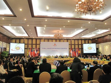 Public-Private Sector Policy Dialogue with ASEAN Economic Ministers