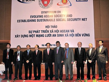 Symposium on Evolving ASEAN Society and Establishing Sustainable Social Security Net