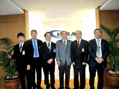 Members of METI Japan and JCOAL Visit the ERIA