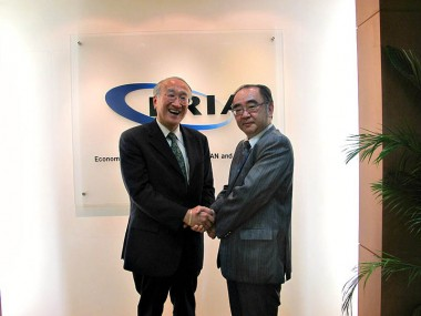 Visit of Mr. Nobuo Tanaka, Executive Director of International Energy Agency
