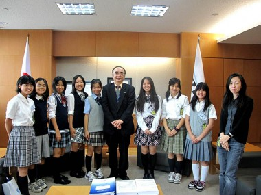 Visit of Students from Jakarta Japanese School