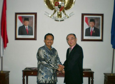 Meeting with Mr. Ngurah Swajaya, Permanent Representative of Indonesia to ASEAN