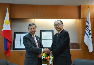 Visit of  Mr. Gregory L. Domingo, Secretary of Department of Trade and Industry of Philippines