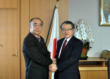 Meeting with Mr. Masaharu Nakagawa, Minister of MEXT Japan