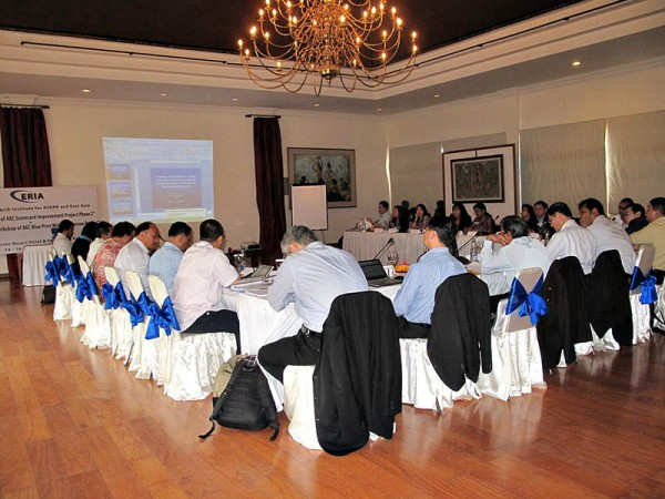 ERIA conducts the 1st AEC Blueprint Mid-Term Review Workshop
