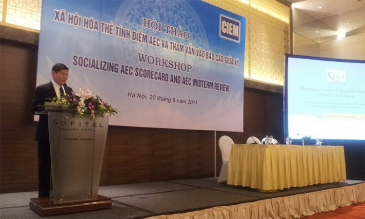 ERIA-CIEM Workshop on Socializing AEC Scorecard and Mid Term Review