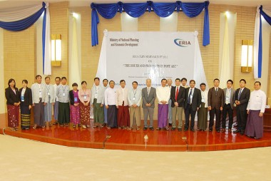 ERIA Organizes CLMV Seminar on Post-AEC Prospects in Myanmar