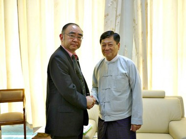 Executive Director of ERIA Meets Ministers of Myanmar