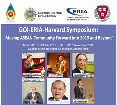 Symposium to Move ASEAN Community Forward into 2015 and Beyond