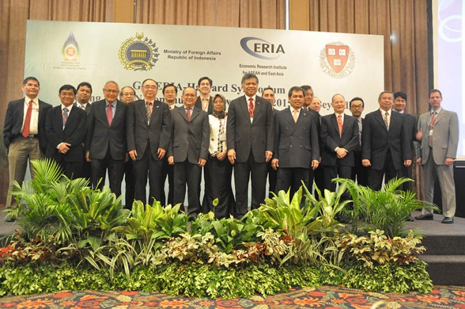 GOI-ERIA-Harvard Symposium Starts, Preceding the 19th ASEAN Summit