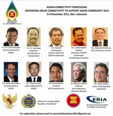 Symposium to Connect with ASEAN Connectivity Stakeholders on 8-9 November 2011 in Bali
