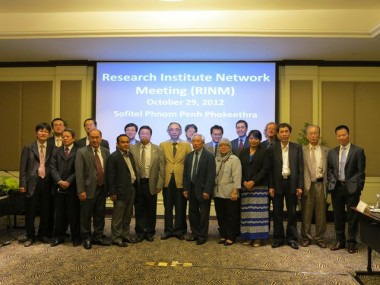 ERIA Research Institute Network Meeting held in Phuket, Thailand