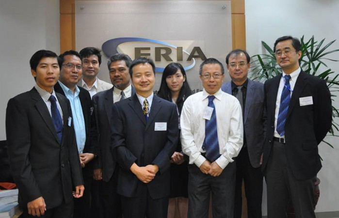 ERIA Organizes 1st Working Group Meeting for Energy Market Integration