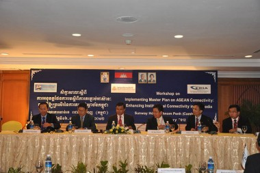 Implementing Master Plan on ASEAN Connectivity: Enhancing Institutional Connectivity in Cambodia