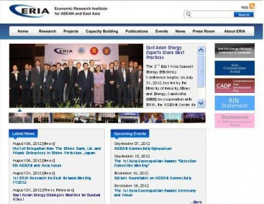 ERIA Launches New Website