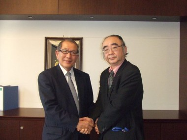 Meeting with Senior Vice President of JICA, Mr. Hideaki Domichi