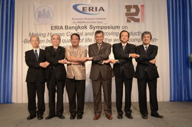 ERIA Bangkok Symposium on Making Human Capital and Improving Productivity