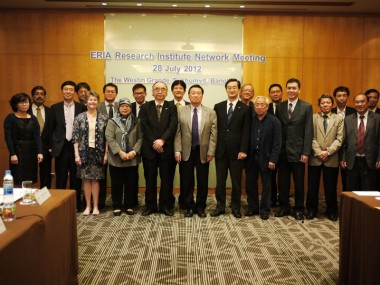 1st ERIA Research Institute Network Meeting FY2012
