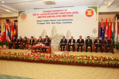Outcomes of the 44th ASEAN Economic Minsiters Meeting and Related Meetings