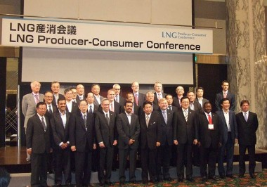 First Global Conference at which both Government and Private LNG Producers and Consumers Gathered
