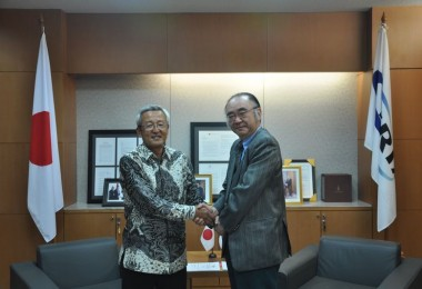 Visit of Mr. Shunji Jinbo, President of PT. Sojitz Indonesia
