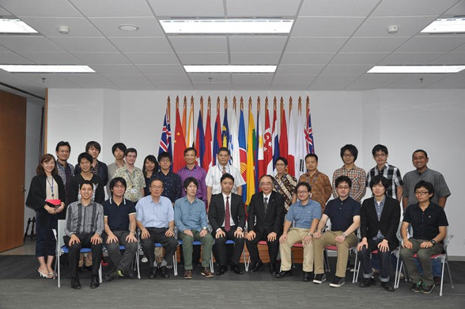 Students from the University of Tokyo Visit ERIA
