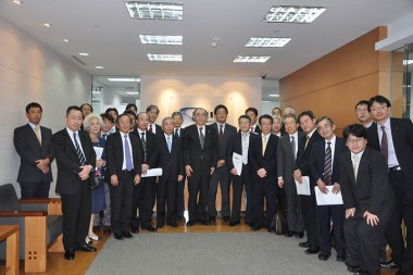 Visit of Delegation from Kyushu Bureau of Economy, Trade and Industry