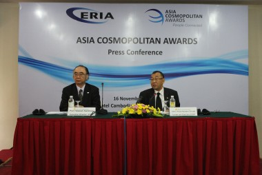 The 1st Asia Cosmopolitan Awards Awarding Ceremony held at NARA FORUM 2012 in Japan