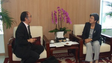 Executive Director of ERIA Called on Ambassador of People's Republic of China to ASEAN